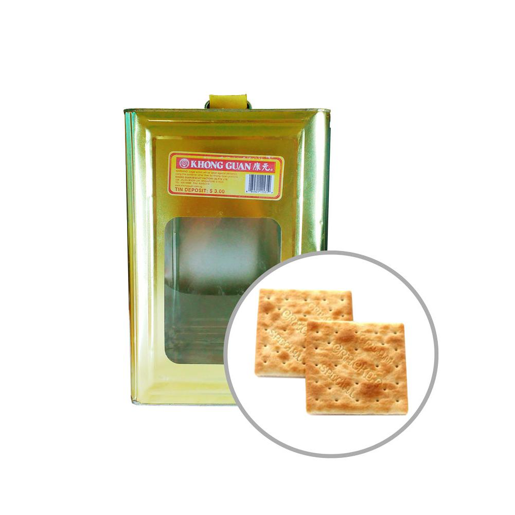 Khong Guan Biscuits Cream Crackers 3.5kg Tin