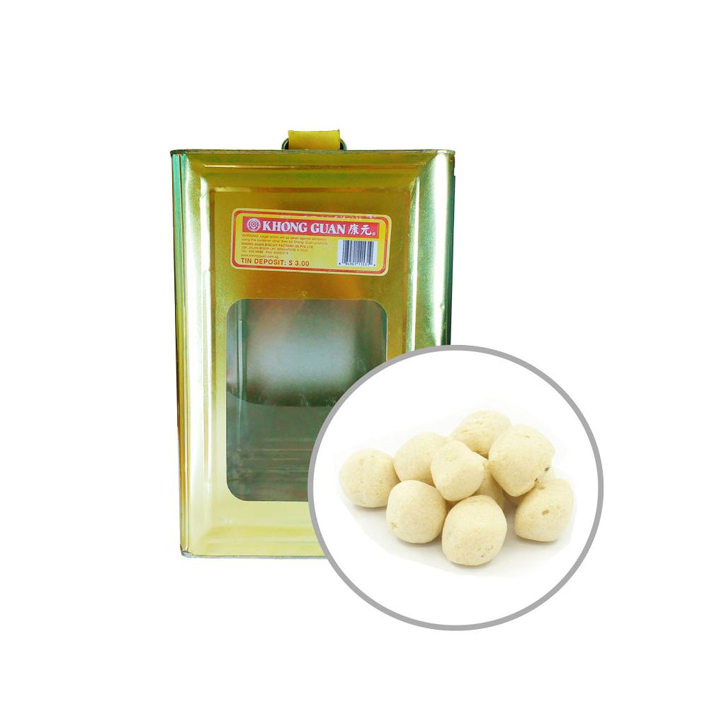 Biscuits Fishball Crackers 2kg Tin