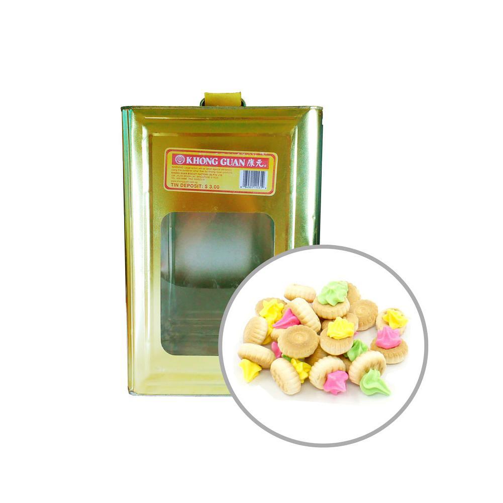 Khong Guan Biscuits Iced Gems 3.5kg Tin