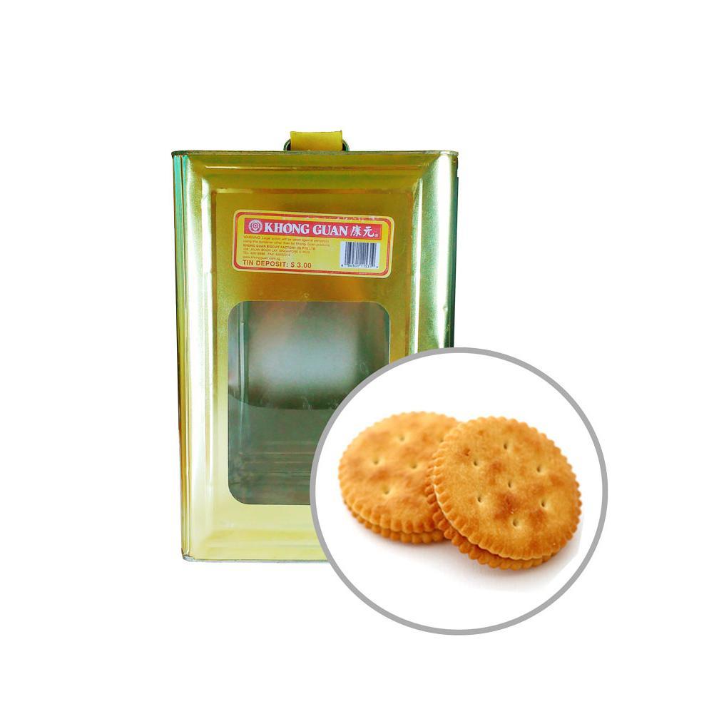 Khong Guan Biscuits Peanut Cream 5kg Tin