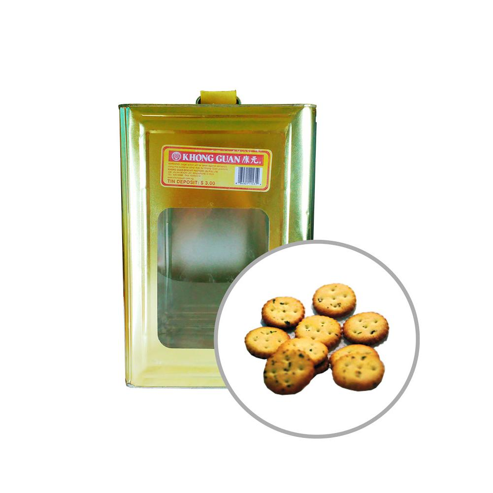 Biscuits Small Calcium Vegetable 3.5kg Tin