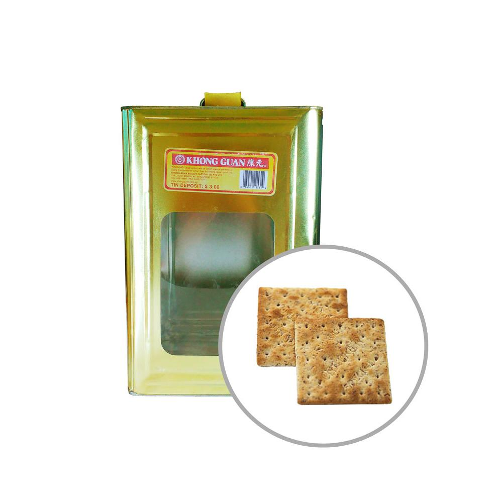Biscuits Wholemeal Wheat Crackers 3.5kg Tin