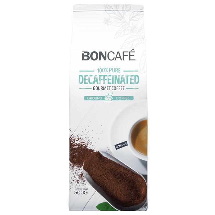 Boncafe Decaffeinated 100% Arabica Coffee Bean 500g 510-1-04