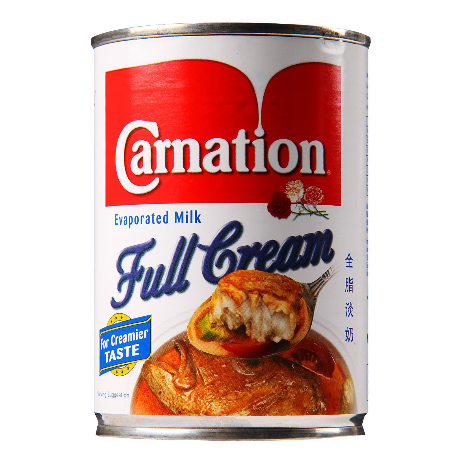 Carnation Evaporated Milk Full Cream 390g