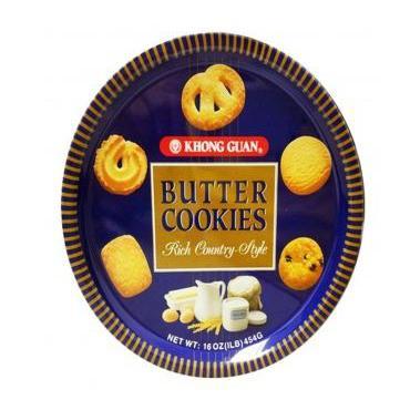 Khong Guan Biscuits Butter Cookies 454g
