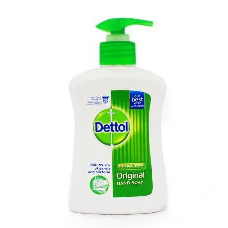 Dettol Original Liquid Hand Wash Soap 250ml Pack of 3