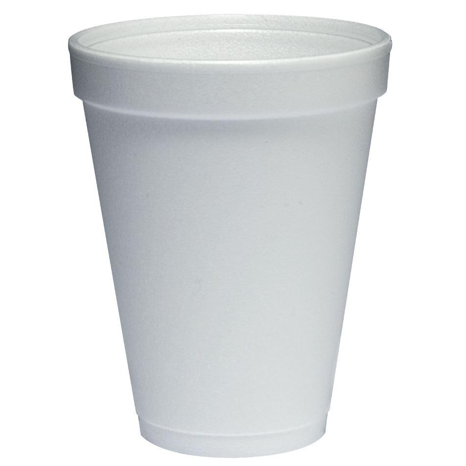 Disposable Foam Cup 8oz Pack of 25