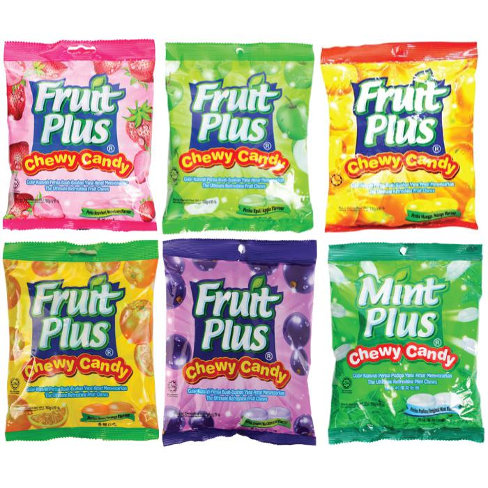 Fruit Plus Chewy Candy 150g