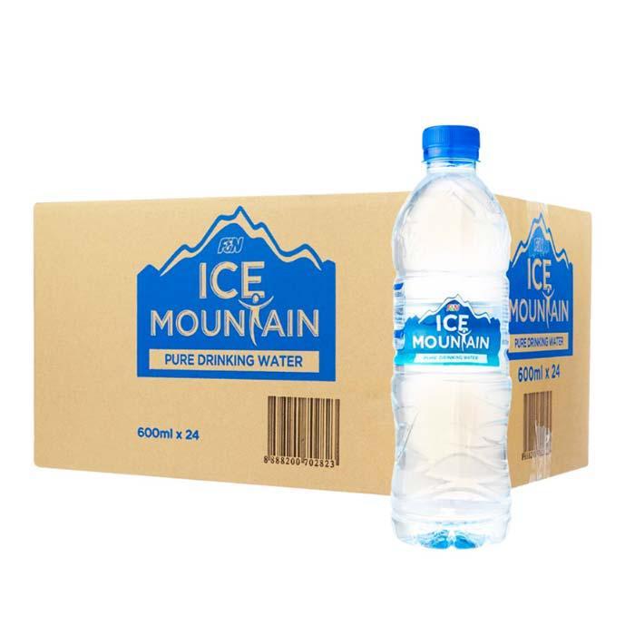 Ice Mountain Water Bottle 600ml x 24