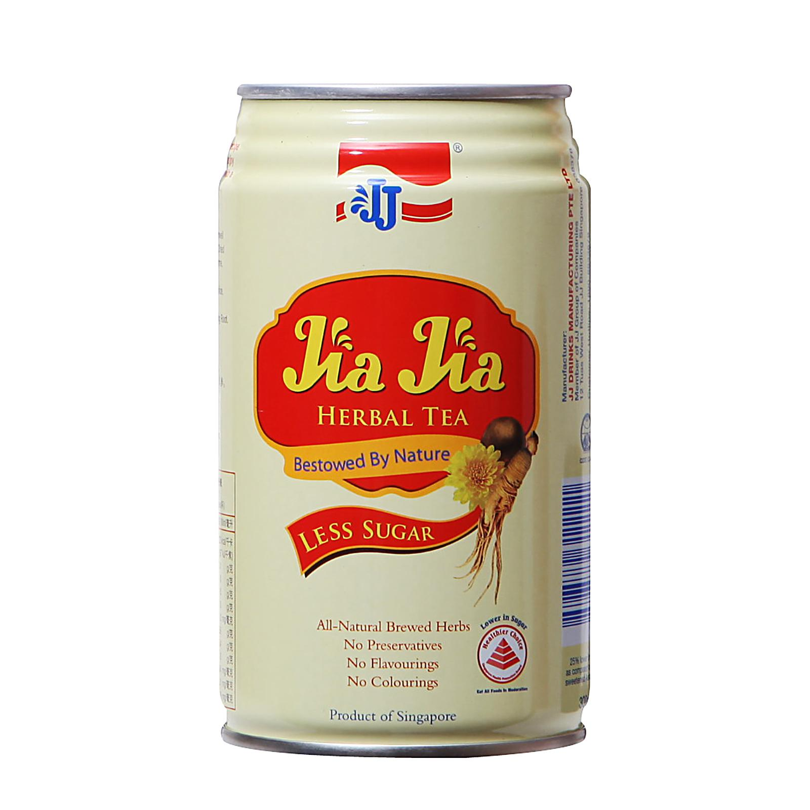 Jia Jia Herbal Tea Less Sugar Can Drink 300ml x 24