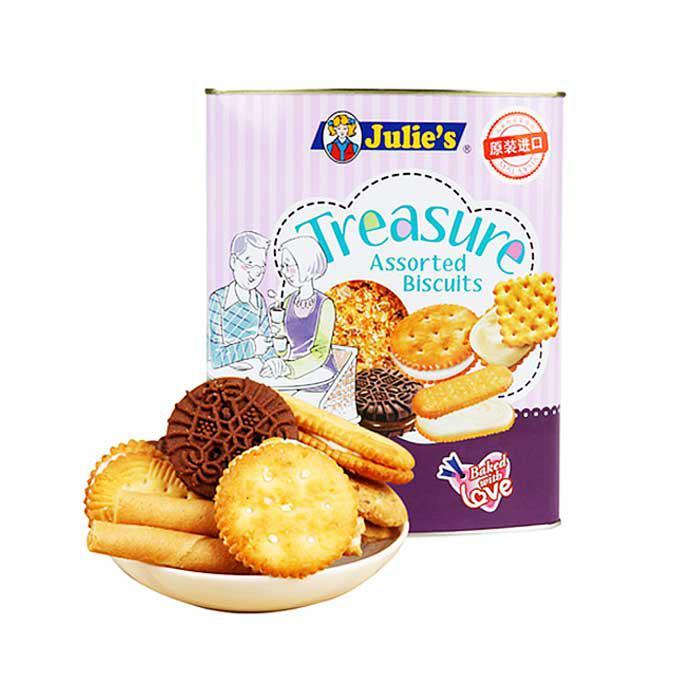 Julie's Treasure Assorted Biscuits 530g