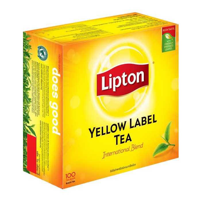 Lipton Yellow Label Teabags Box of 100