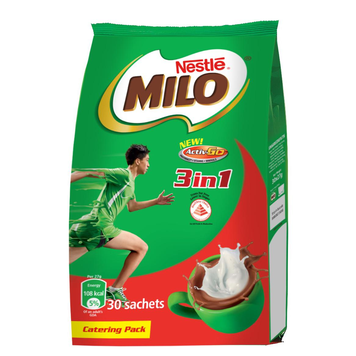 Nestle Milo 3 in 1 Activ-Go Catering Pack