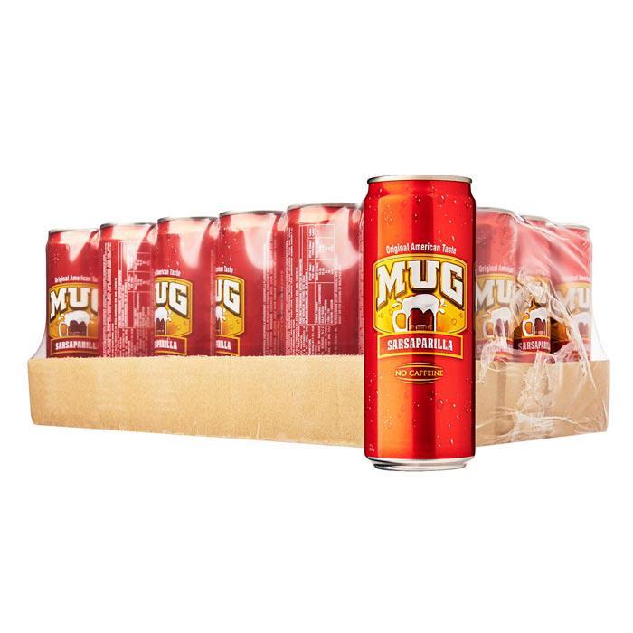 MUG Root Beer Can Drink 330ml x 24