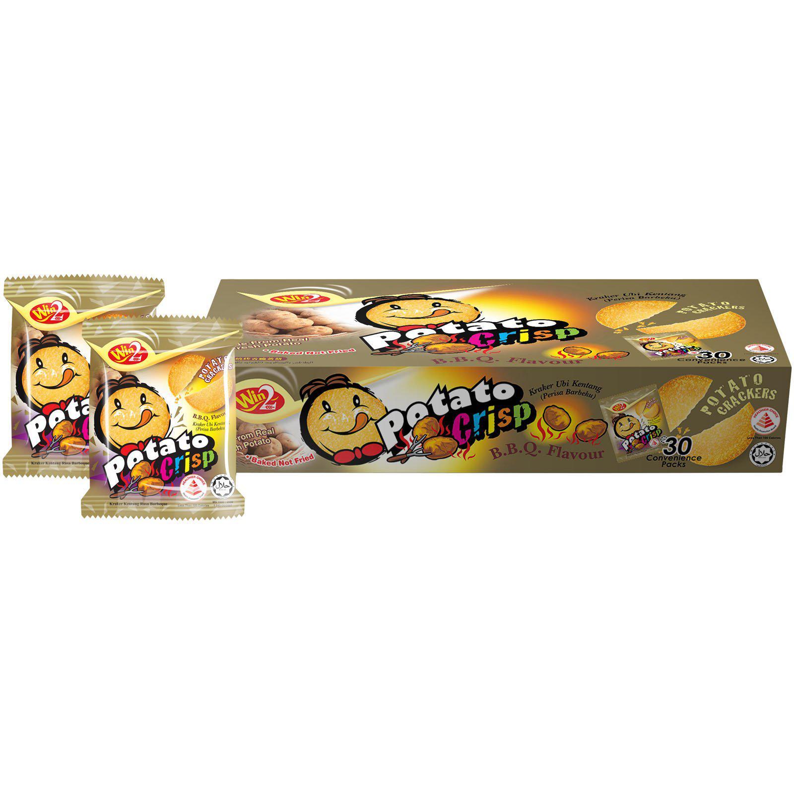 Potato Crisp BBQ Flavour 20 grams x 30 packs