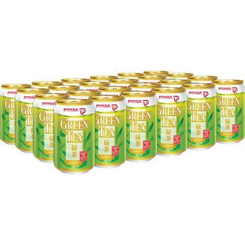 POKKA Green Tea Can Drink 300ml x 24