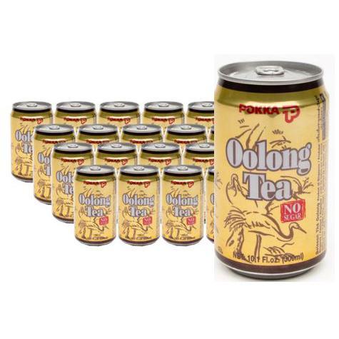 POKKA Oolong Tea Can Drink 300ml x 24