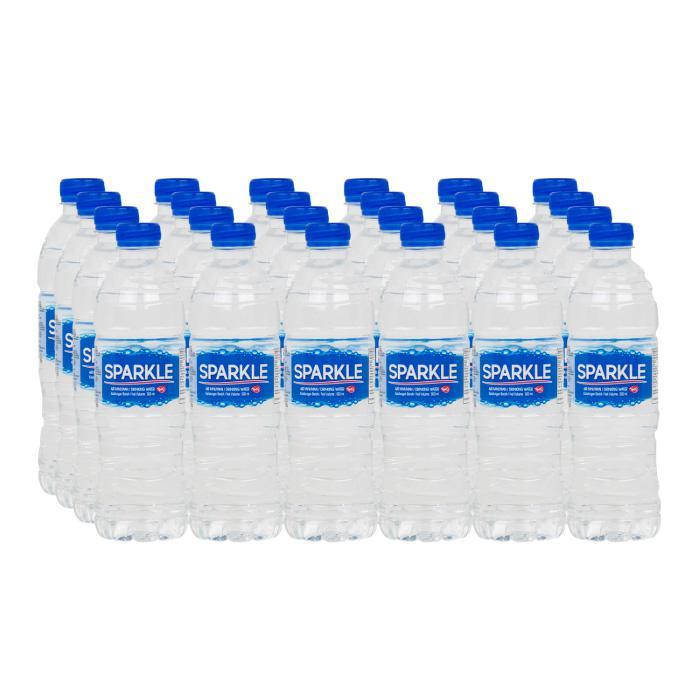 Sparkle Drinking Water Bottle 600ml x 24