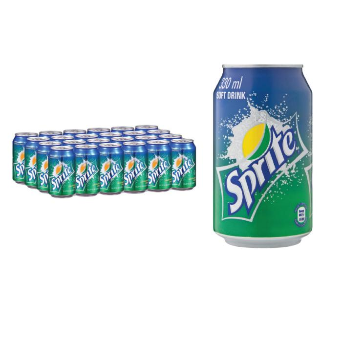 Sprite Can Drink 330ml x 24