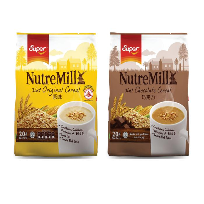 Super NutreMill Cereals Pack of 20