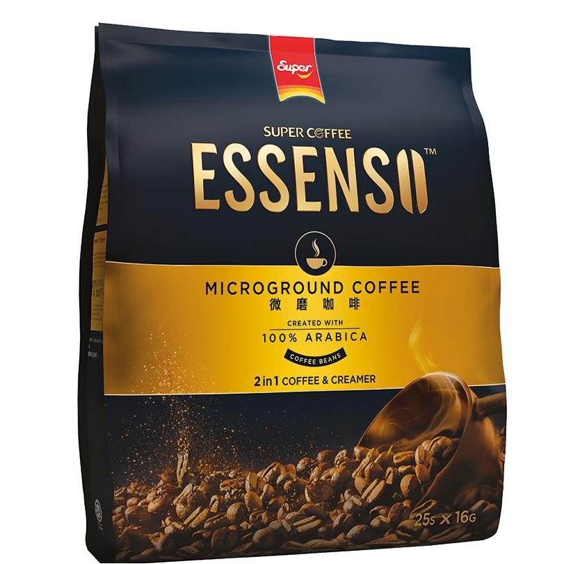 Super Essenso 2 in 1 Microground Instant Coffee Pack of 25
