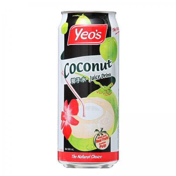 Yeo's Coconut Juice Can Drink 500ml x 24