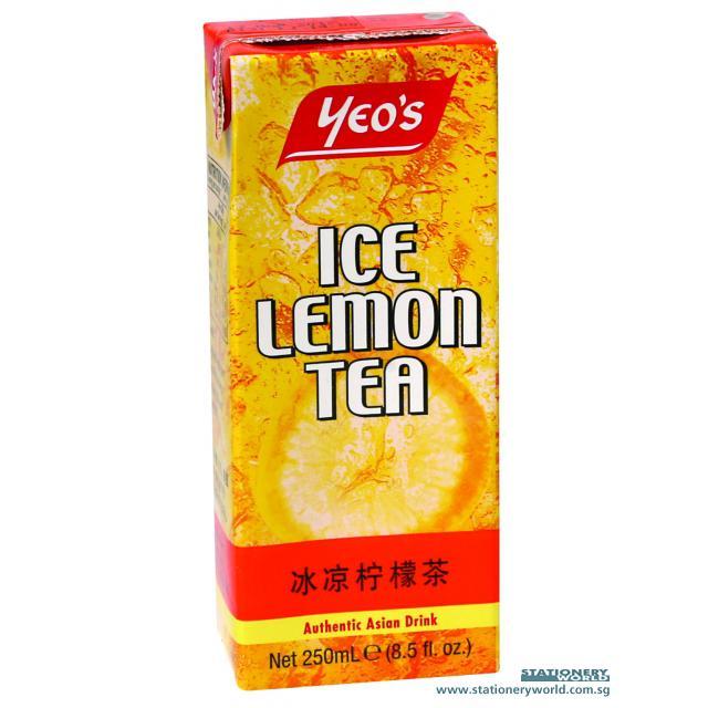 Yeo's Ice Lemon Tea Packet Drink 250ml x 24