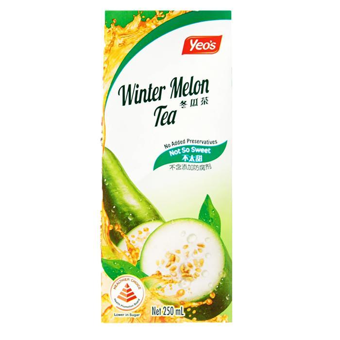Yeo's Wintermelon Tea Packet Drink 250ml x 24