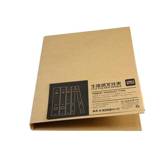 Deli Kraft Paper 2D Ring File 1.5 Inch 5916