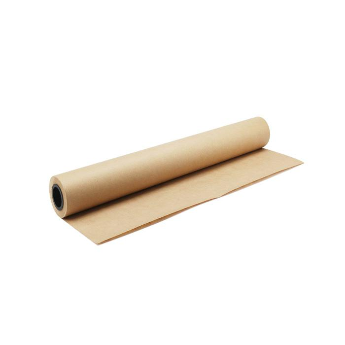 Brown Kraft Paper 60gsm 36 x 48 Inch Roll of 50