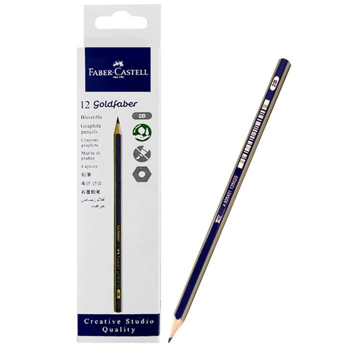 Faber-Castell Goldfaber 2B Pencil 1221