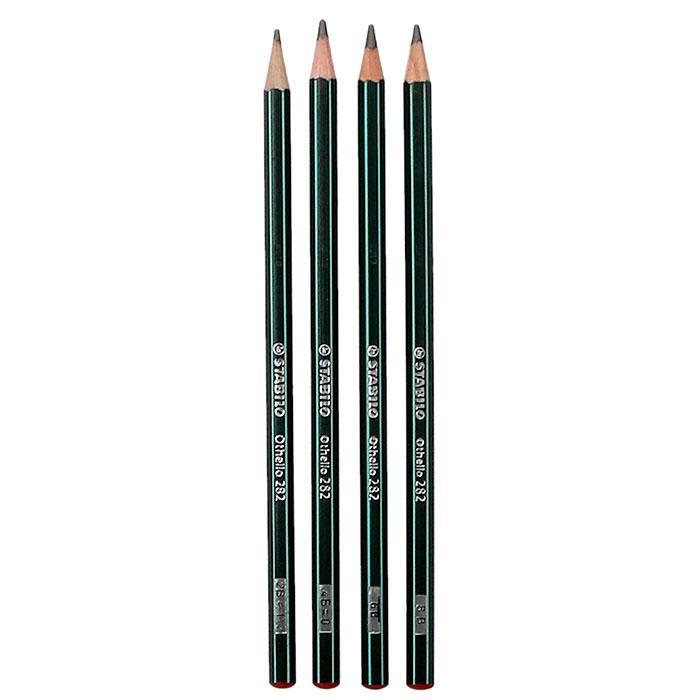 Stabilo Othello Drawing Pencil 4 Pcs Per Pack LP 0034