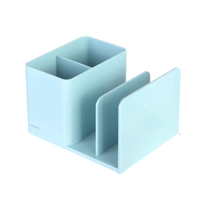 Deli Pen Holder Light Blue 9128