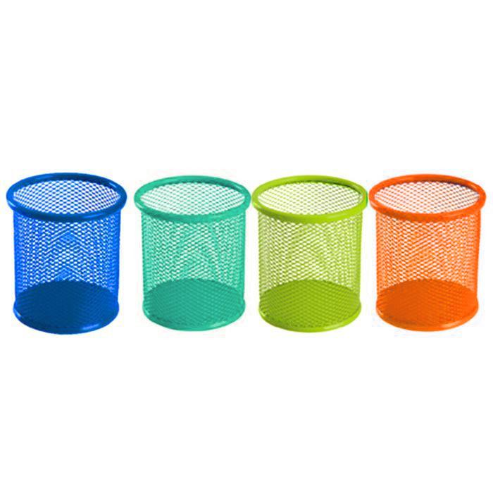 Deli Round Mesh Pen Holder 9153