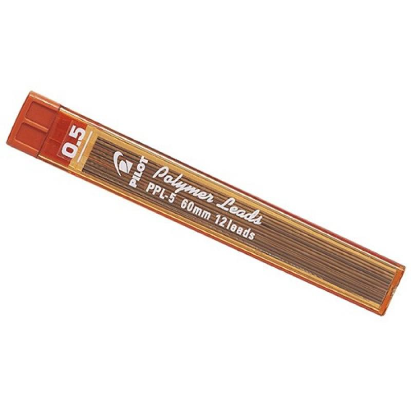 Pilot Polymer Pencil Lead 2B 0.5mm PPL-5