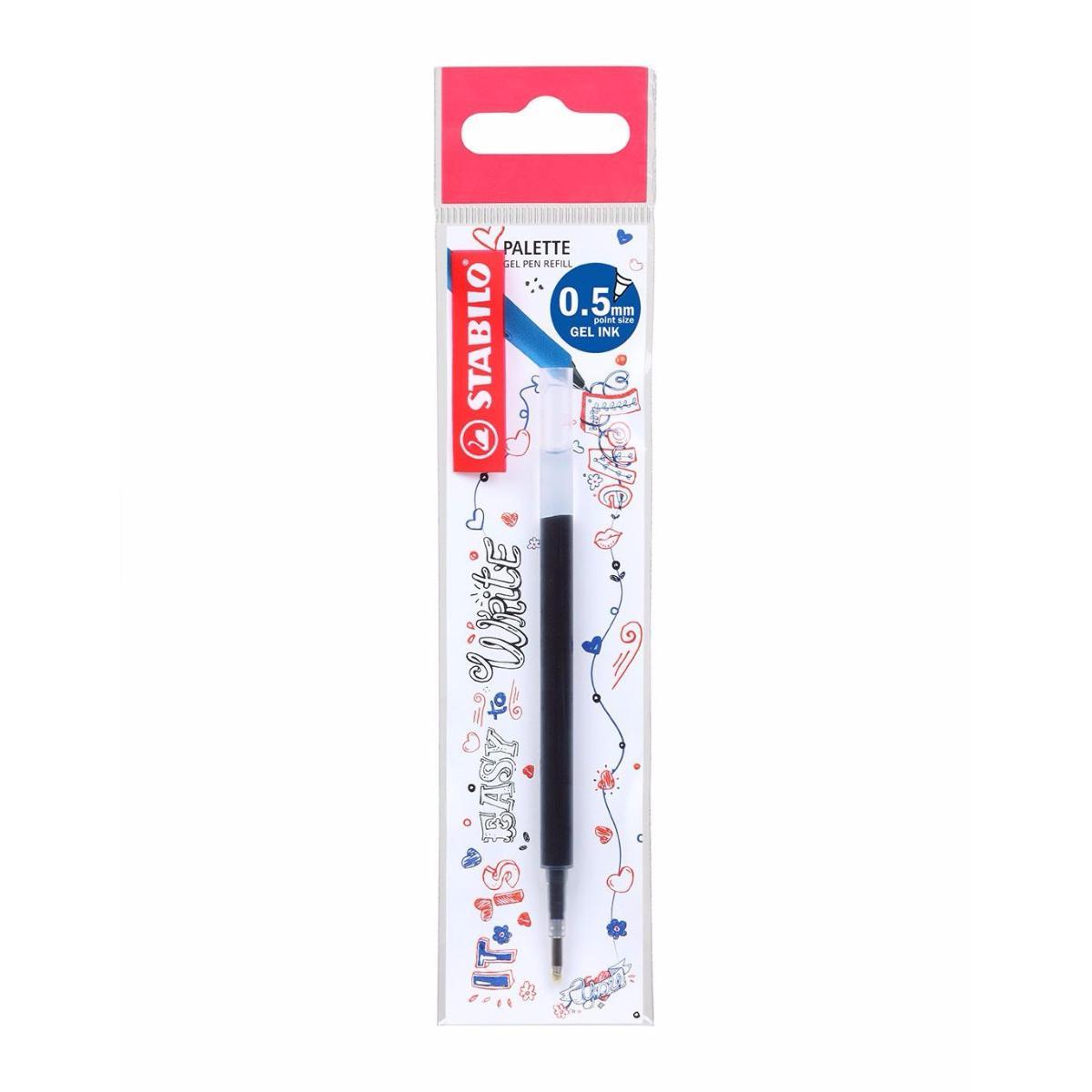 STABILO Palette Gel Pen Ink Refill X Fine 0.5mm