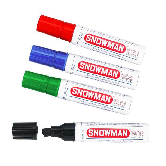 Snowman Jumbo Permanent Marker 500