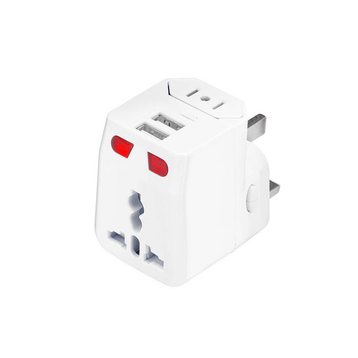 Travel Adaptor with 2 USB Ports