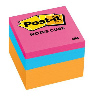 3M Post-it Notes Cube Neon 2051-N