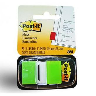 3M Post-it Flags Green 680-22