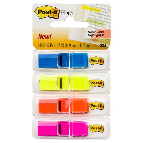 3M Post-it Flags Removable Highlights 683-4ABX