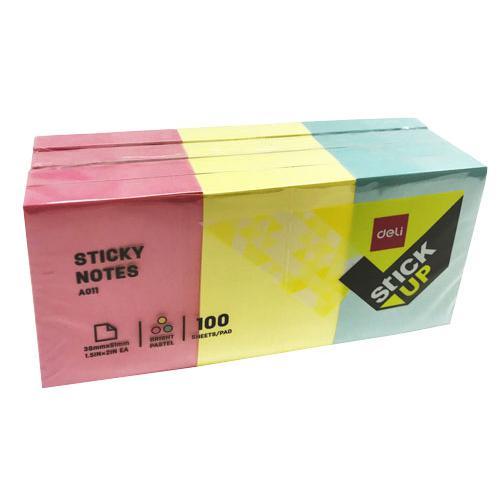 Deli Sticky Notes 38 x 51mm EA01103