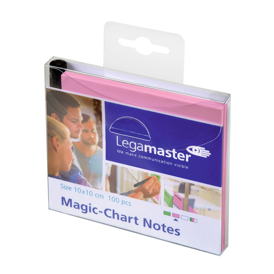 Legamaster Magic Chart Notes 10 x 10cm Pack of 100