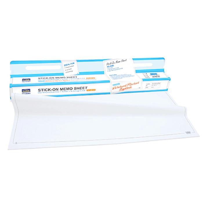 Suremark Stick On Memo Sheet Reusable Whiteboard Flipchart SQ-6080