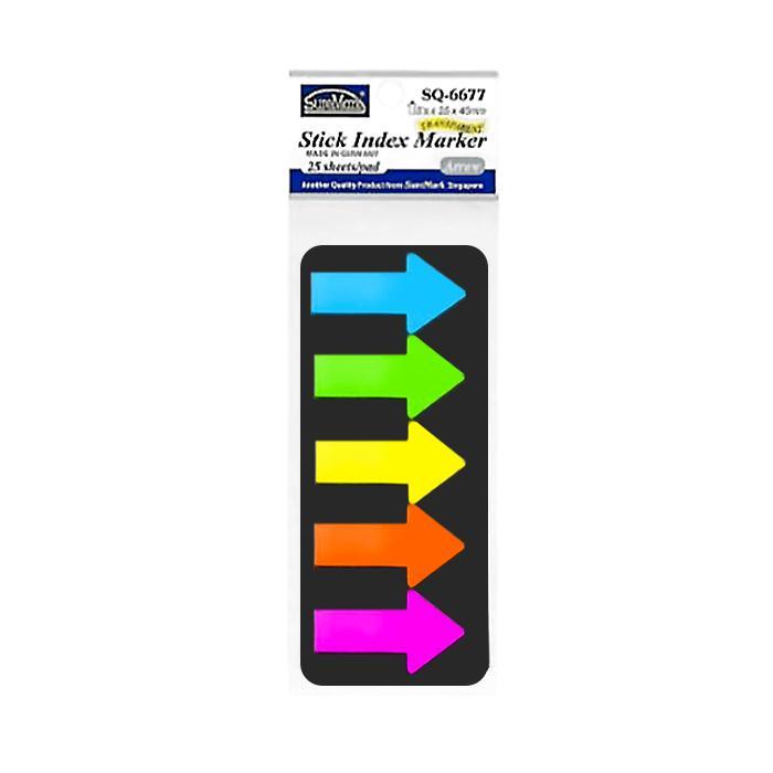 Suremark Stick Index Marker Arrow SQ-6677