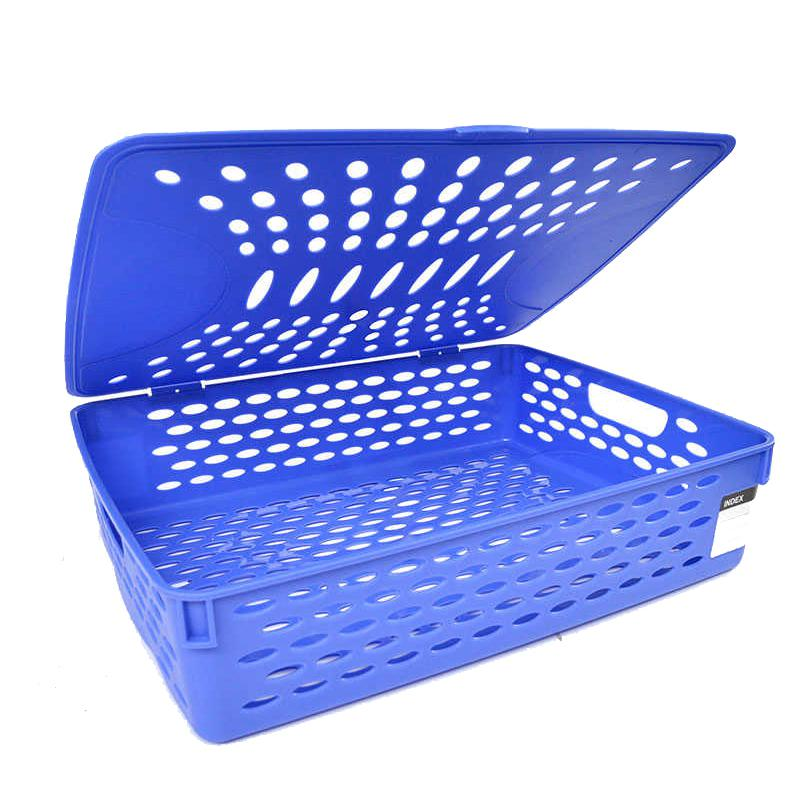 Deli Plastic Basket with Cover A4 923