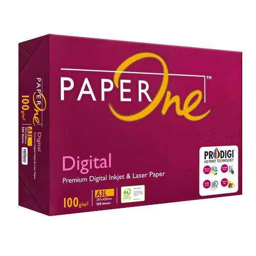PaperOne Digital Premium Inkjet and Laser Paper 100gsm A3