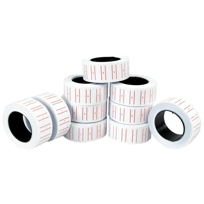 Suremark Price Label Roll Pack of 10 SQ-8860
