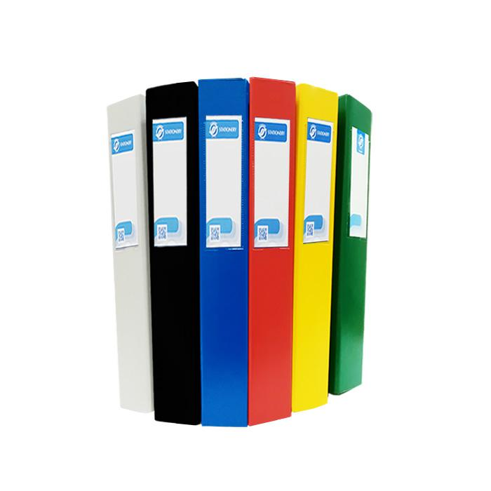 PVC 2 D Ring File Foolscap Size 1.5 Inch