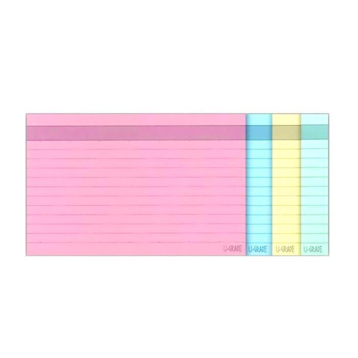 Colour Index Card Line Ruled 4 x 6 Inch CA-CC46/BCCR64